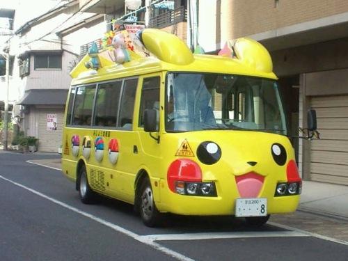 9-Pikachu-Bus